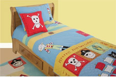 pirate themed bedding