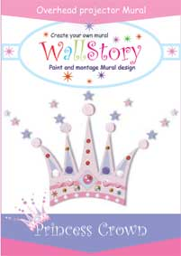 Princess crown e-mural cover