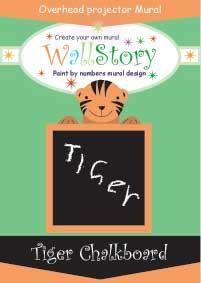 Tiger mural