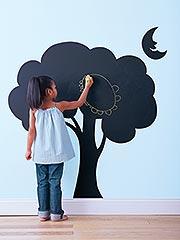 Tree chalkboard