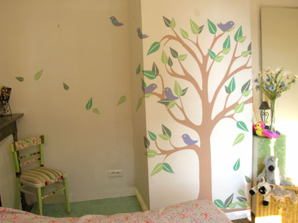 For Those Of You Who Would Like To Try Their Hand At Painting A Simple Tree  Mural I Now Have A Selection Paint By Number Tree Murals Available In All  Sorts ...