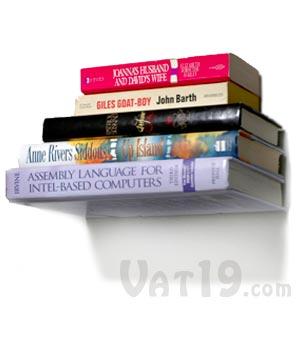 Floating Books Bookshelf Off The Wall
