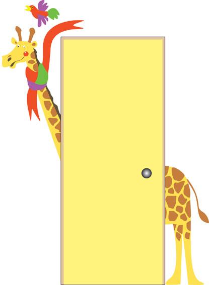 giraffe-doorhugger