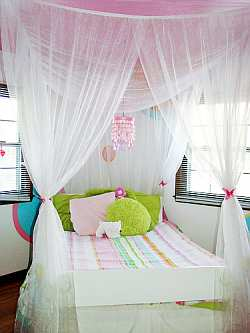 DIY Bed canopy | Off the Wall