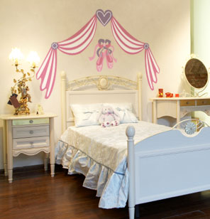 ballet room theme ideas for little girls rooms off the wall
