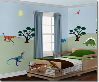 Dinosaur decor ideas diy dinosaur decor off the wall - Boys room dinosaur decor ideas ...