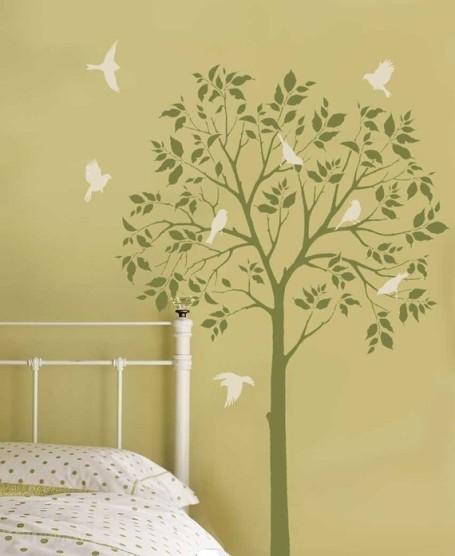 Stencil tree design