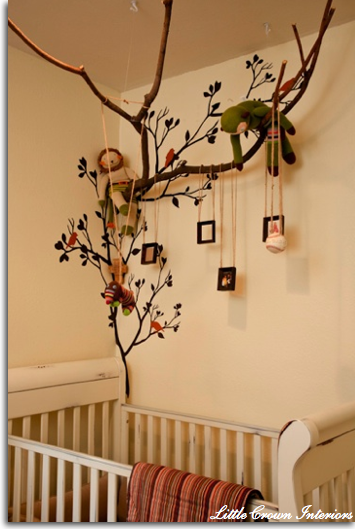 Off the wall diy decor ideas for kids rooms ideas for for Above the crib decoration ideas