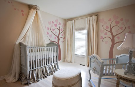 Love Bird Tree paint by number mural