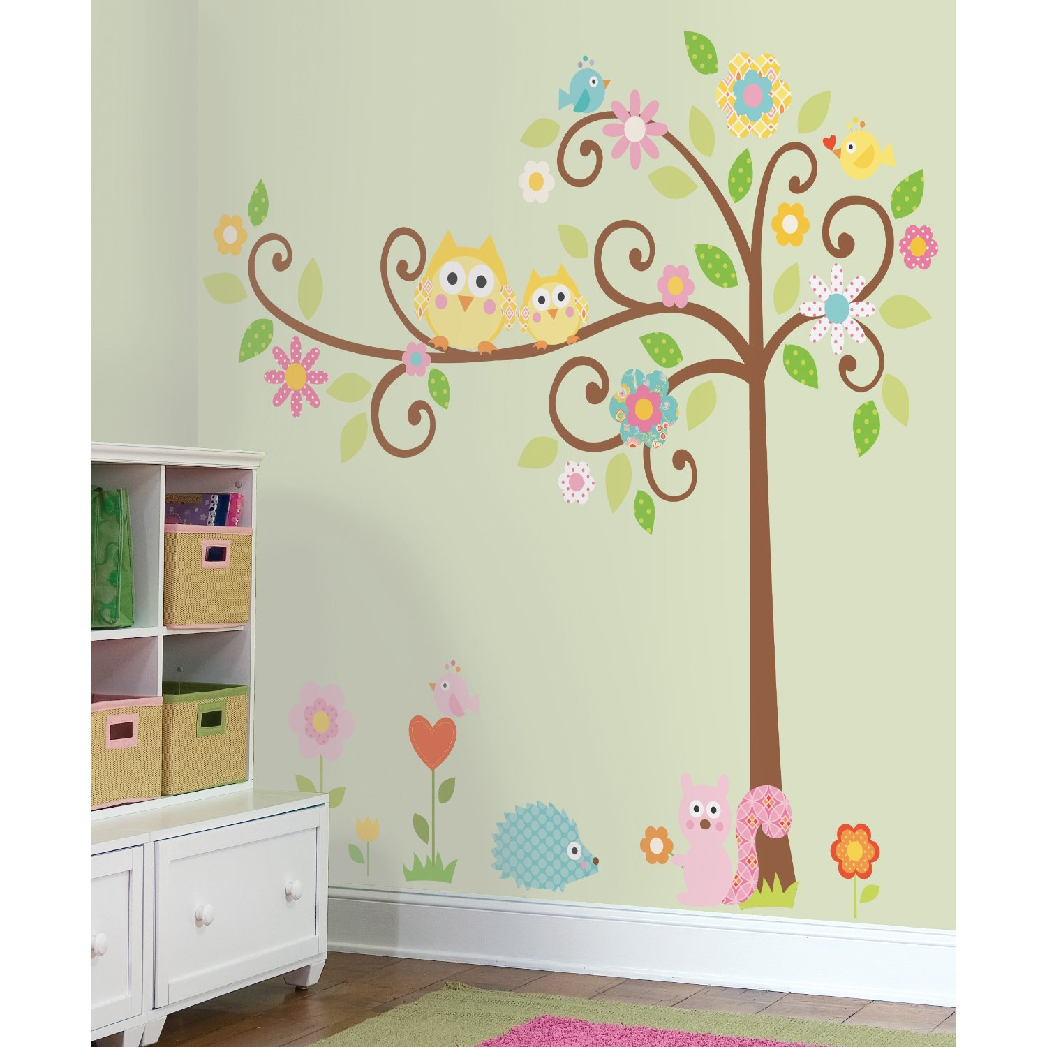 How To Paint A Tree Mural Off The Wall - Diy wall decor birds