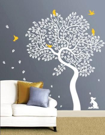Inspirational The Bunny Tree Vinyl Wall Decal WowWall